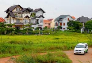 Cấp giấy phép xây dựng tạm trên đất dự án