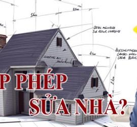 Dịch vụ xin giấy phép xây dựng, sửa chữa nhà ở