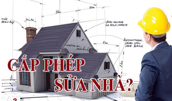 Thủ tục xin Giấy phép xây dựng sửa chữa cải tạo nhà ở