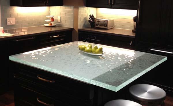 Những mẫu bàn kính đẹp lung linh cho nhà bếp của bạn