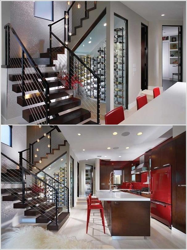 Những chiếc gầm cầu thang hữu ích hơn bạn nghĩ