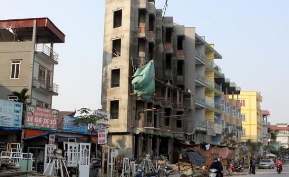 Công trình xây dựng sai giấy phép được nộp phạt để tồn tại