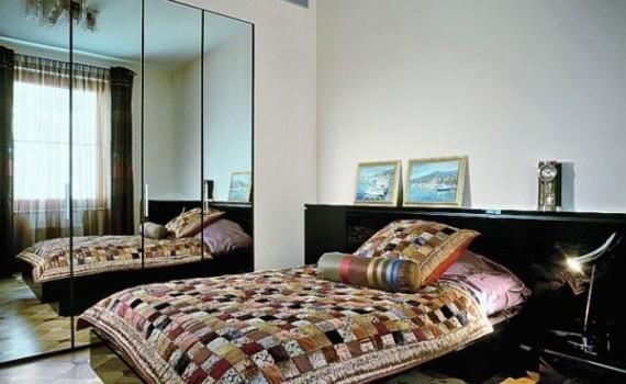 Ý tưởng kéo rộng không gian phòng ngủ nhỏ