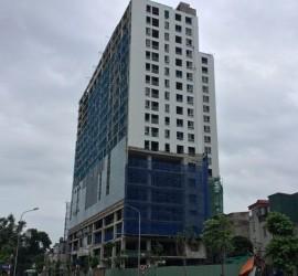 cắt ngọn tòa nhà xây dựng sai giấy phép phố lê trực