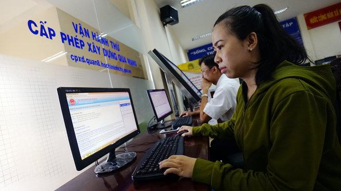 dịch vụ cấp phép xây dựng qua mạng internet