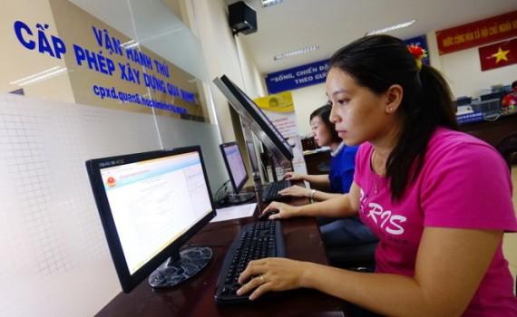 dịch vụ xin giấy phép xây dựng qua mạng internet.