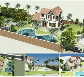 Dịch vụ thiết kế nhà và thi công xây dựng trọn gói tại huyện phúc thọ hà nội.