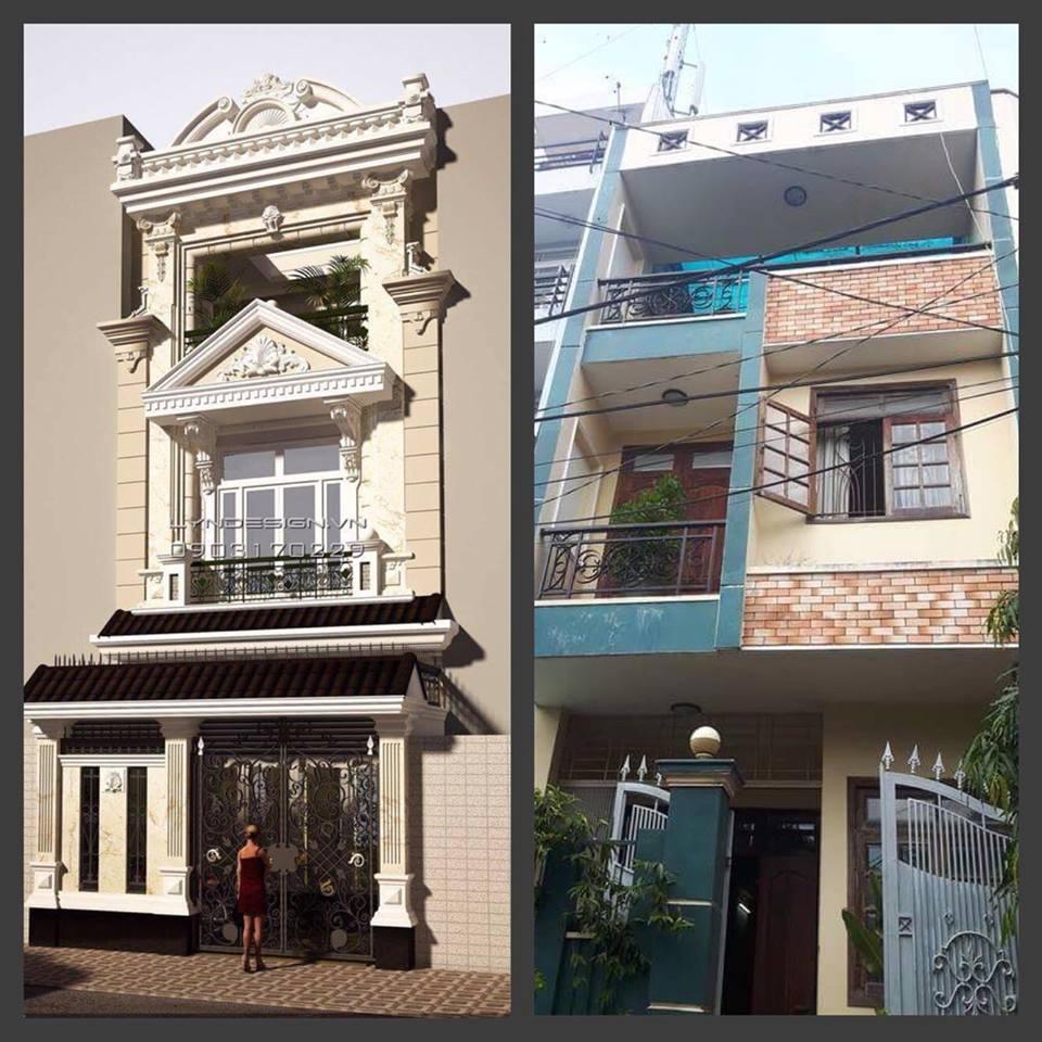 Thủ tục xin phép xây dựng sửa chữa cải tạo nhà ở.