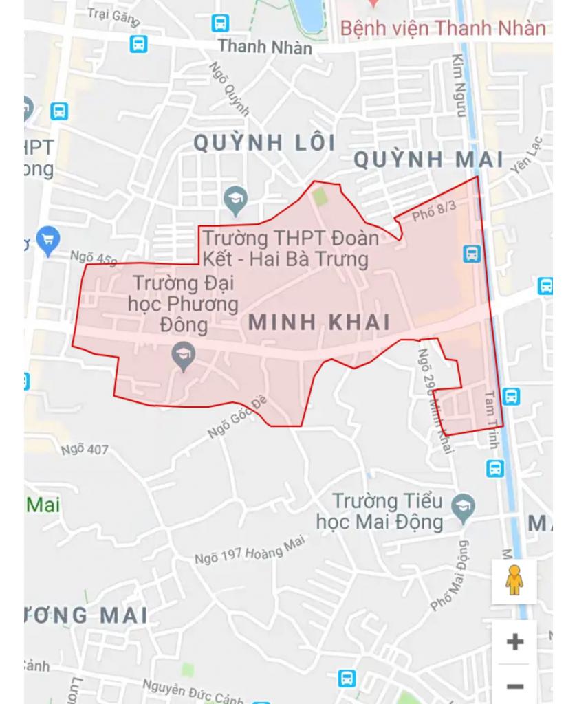 Dịch vụ xin giấy phép xây dựng trọn gói phường Minh Khai Hai Bà Trưng.