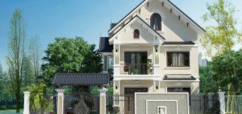 Tổng hợp các mẫu nhà 2 tầng mái thái được ưa thích