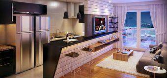 Gợi ý thiết kế nội thất phòng bếp cho chung cư nhỏ